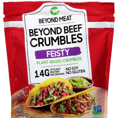 Beyond Meat Frozen Beyond Beef Plant Based Crumbles Feisty - 10oz