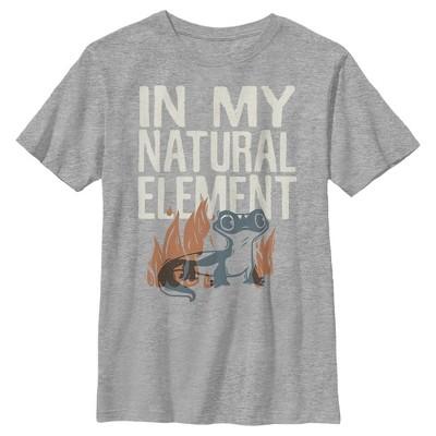 Boy's Frozen 2 Natural Salamander T-Shirt