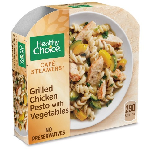 Healthy Choice Cafe Steamers Frozen Chicken Pesto Classico 10 6oz Target