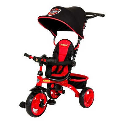 Kids Embrace KE-7501MAR Marshall 4 in 1 Push & Pedal Paw Patrol Trike & Stroller