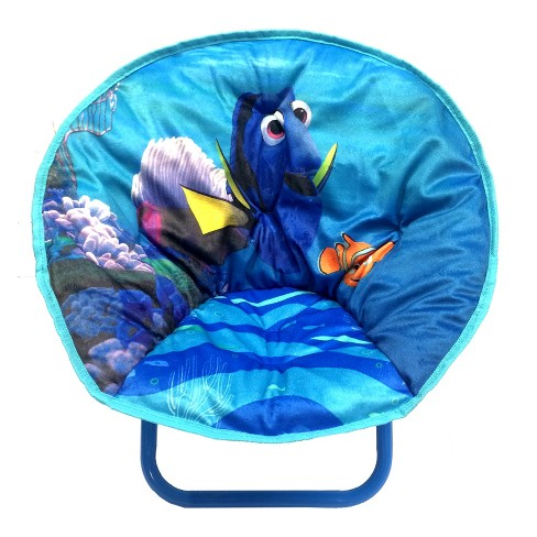Disney Finding Dory Toddler Saucer Chair Blue - image 1 of 2
