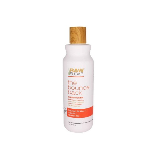 Raw Sugar The Bounce Back Mango Butter + Agave + Carrot Oil Conditioner - 18 fl oz - image 1 of 4