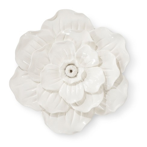 White Flower Wall Décor - Pillowfort™ : Target