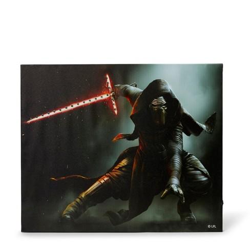 """Seven20 Star Wars Illuminated Canvas Art - 23.9""""x19.9"""" - Kylo Ren - image 1 of 4"""