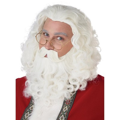 California Costumes Santa Wig, Beard, and Moustache Set