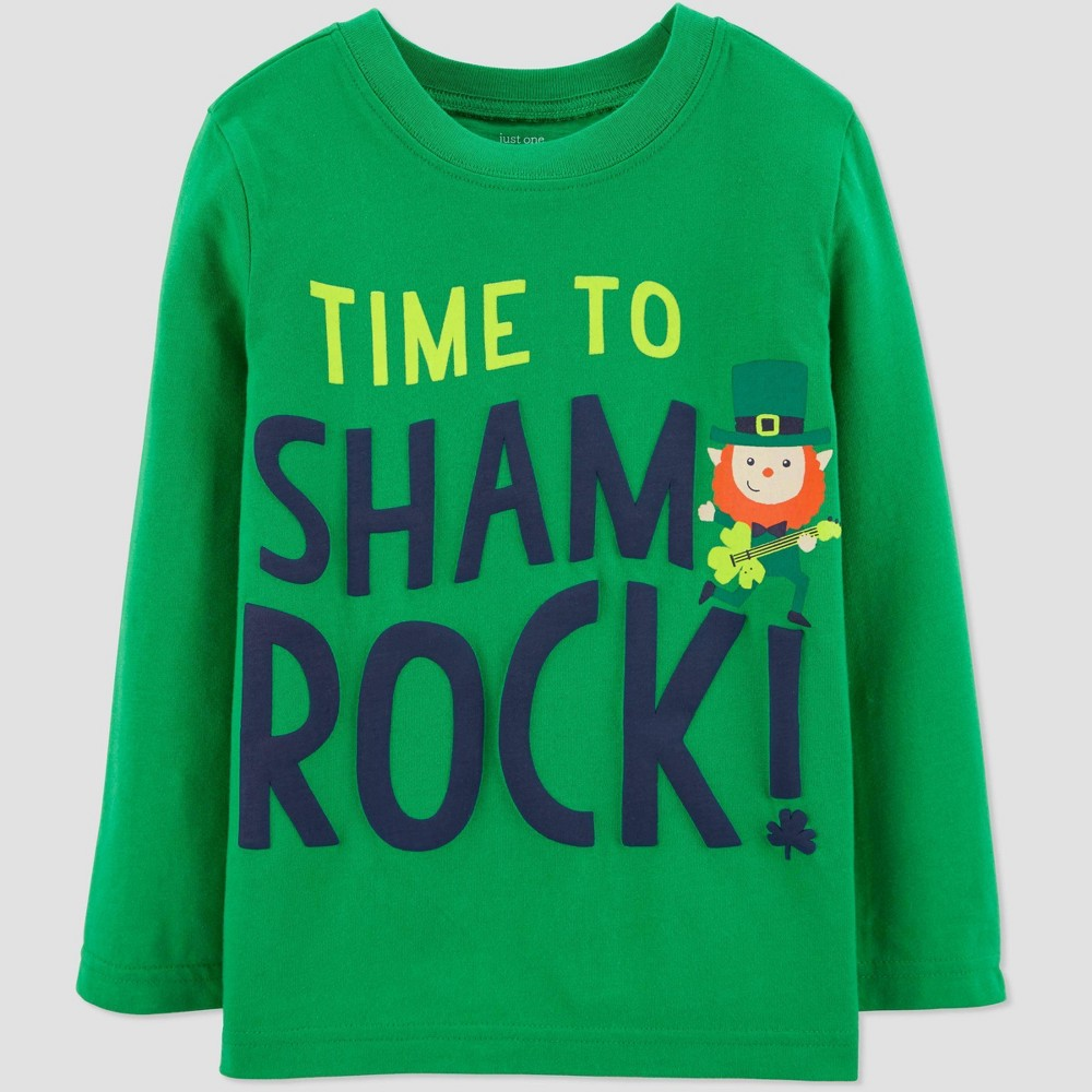 Image of Baby Boys' Sharmrock T-Shirt - Just One You made by carter's Green 18M, Boy's