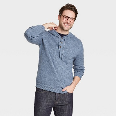 Men's Regular Fit Pullover Hoodie Sweater - Goodfellow & Co™