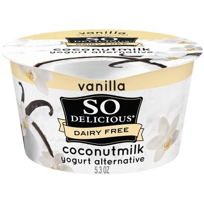 So Delicious Dairy-Free Vanilla CoconutMilk Yogurt Alternative - 5.3oz