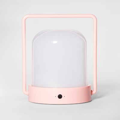 Portable Rechargeable LED Lantern Pink - Pillowfort™