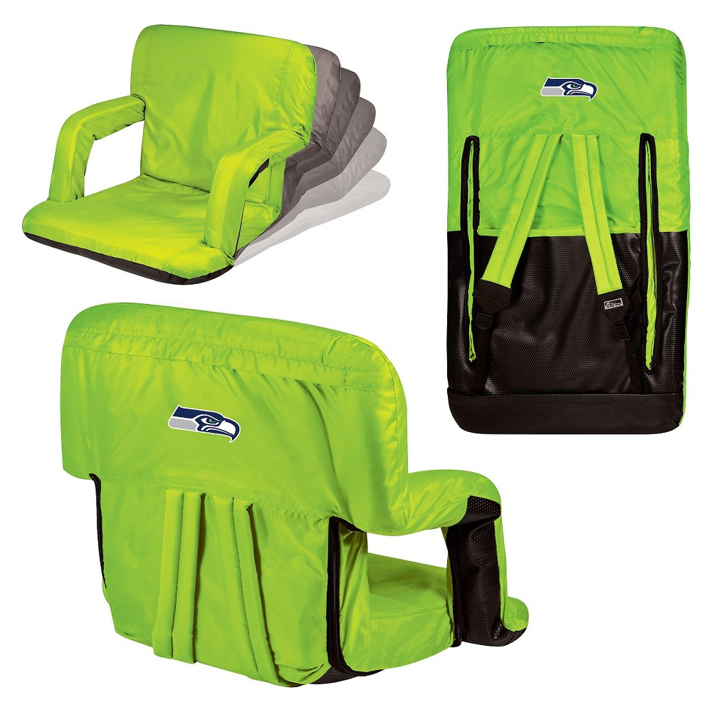 Nfl Seattle Seahawks Ventura Seat Portable Recliner Chair By Picnic Time