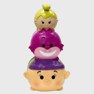"Disney 10"" Tsum Tsum Resin Garden Statue With Tinker Bell, Cheshire Cat And Dopey"