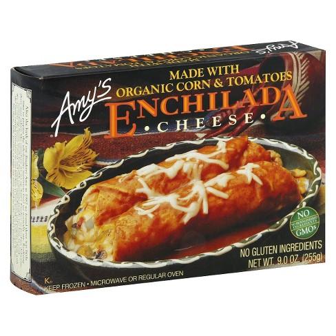 Amy's Organic Corn & Tomatoes Frozen Enchilada - 9oz - image 1 of 3