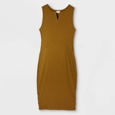 Sleeveless Rib Tank Maternity Dress - Isabel Maternity by Ingrid & Isabel™