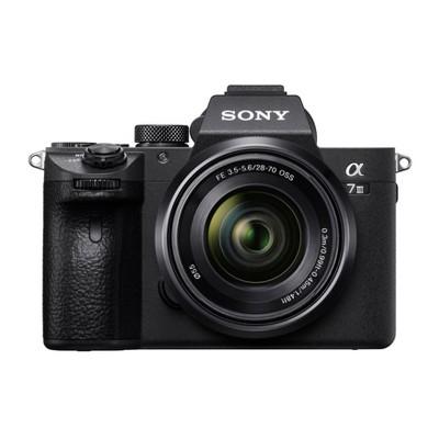 Sony Alpha a7 III 24.2MP Full Frame Mirrorless Digital Camera with 28-70mm Lens