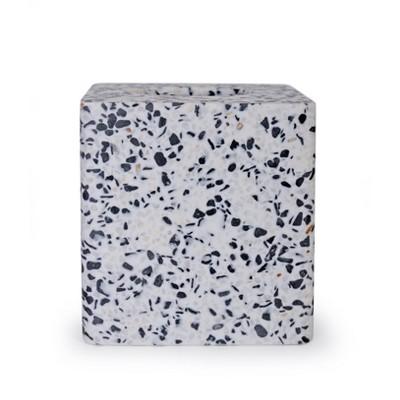 Bianco Tissue Cover Black/White - Moda at Home