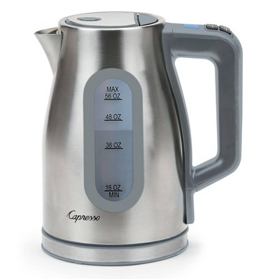 Capresso 11 Temperature Electric Water Kettle H2O Select – Stainless Steel 274.05