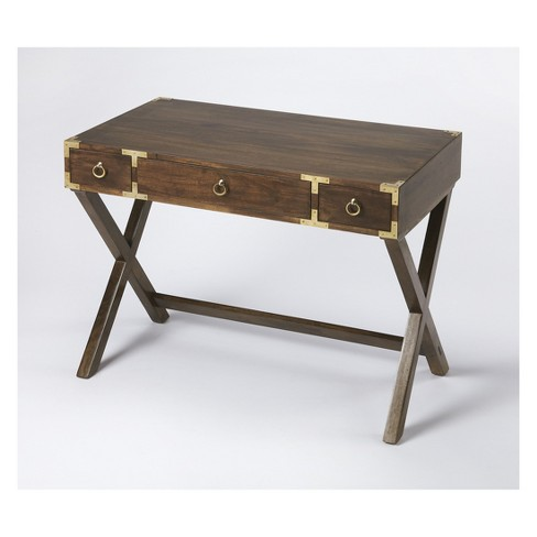 Butler Specialty Forster Campaign Writing Desk Brown - image 1 of 3