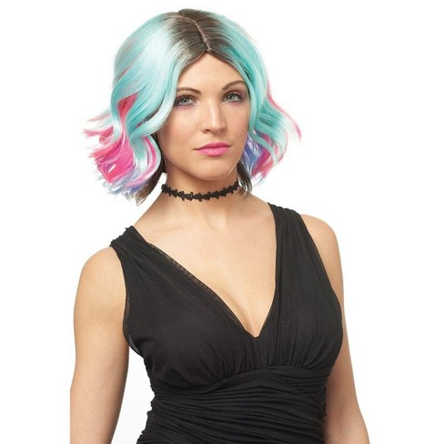 Costume Culture by Franco LLC Lollipop Adult Costume Wig, One Size - image 1 of 1
