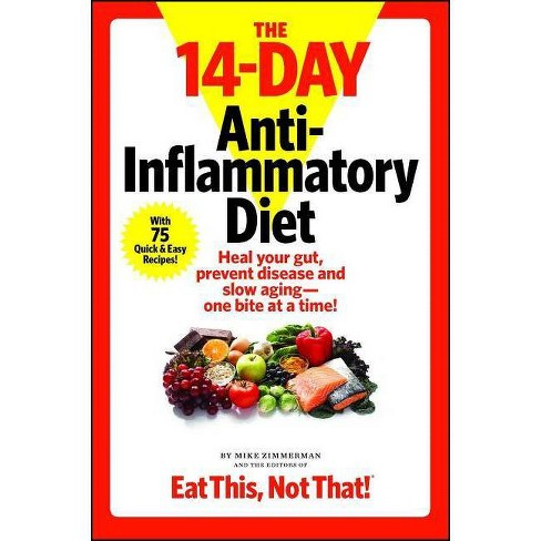 The 14-Day Anti-Inflammatory Diet - by  Mike Zimmerman (Paperback) - image 1 of 1