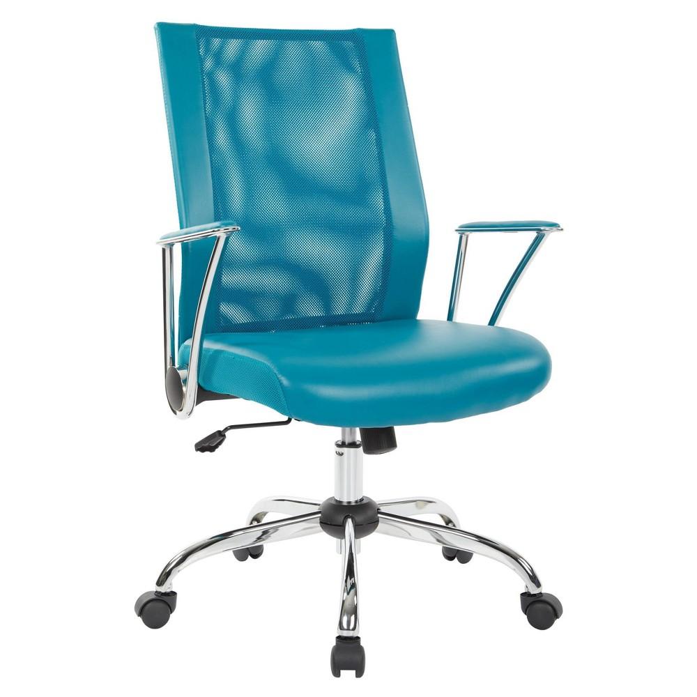 Bridgeway Office Chair Blue Osp Home Furnishings
