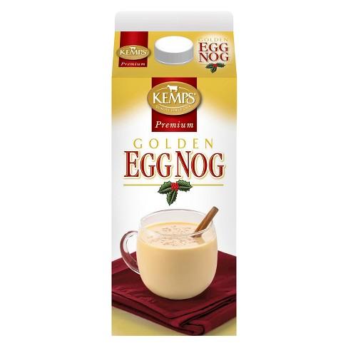 Kemps Golden Egg Nog - 0.5gal - image 1 of 1