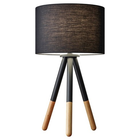 Adesso Louise Table Lamp - Black - image 1 of 2