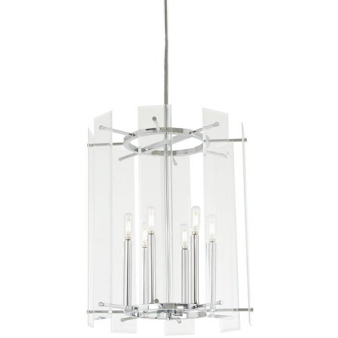 """Minka Lavery 2396 Beacon Trace 6 Light 18"""" Wide Taper Candle Pendant - image 1 of 1"""