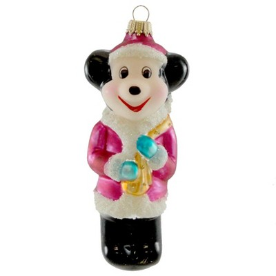 Larry Fraga Big M Mouse Christmas Ornament Santa  -  Tree Ornaments