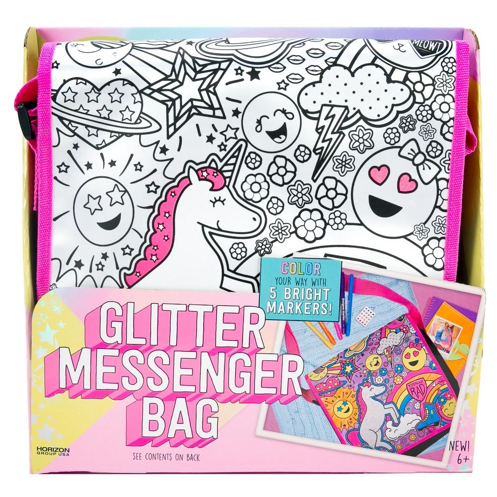 Image of it's so me! Glitter Messenger Bag Kit