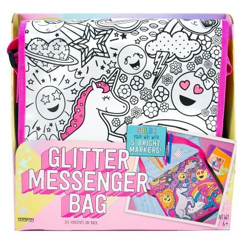 it's so me! Glitter Messenger Bag Kit - image 1 of 4