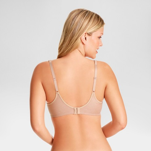 6ab5a2f1ba52e Simply Perfect by Warner s® Women s Full Figure Cooling Wire-Free Bra  RM2281T - Toasted Almond 42C