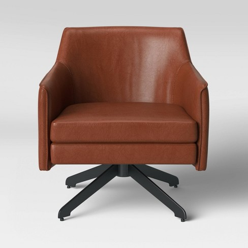 Albert Swivel Accent Chair with Metal Base - Project 62™ - image 1 of 4