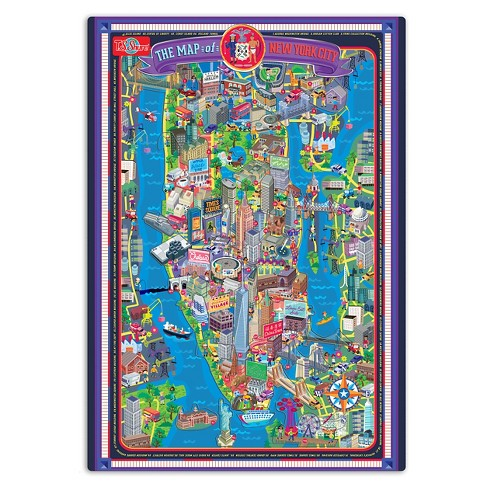 Magnetic Puzzle 70pcTarget York Ts New And Play Shure Board City eWHYD9bIE2