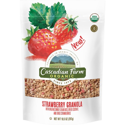 Cascadian Farm Organic Strawberry Granola - 11.5oz - image 1 of 1