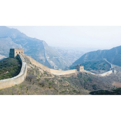 Great Wall China Giant Prepasted Wallpaper Accent Mural - Roommates..