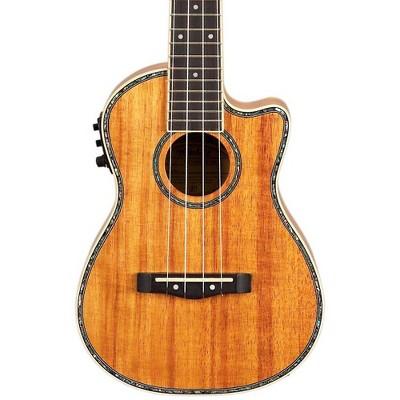 Mitchell MU100CE Acoustic-Electric Concert Ukulele Natural Koa