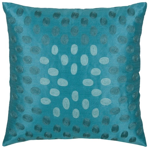 Rizzy Home Modern Throw Pillow Blue - image 1 of 2