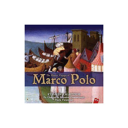 Esemble constantino - Musical voyages of marco polo (CD) - image 1 of 1