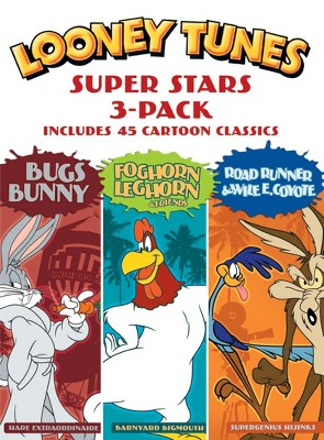 Looney Tunes Super Stars 3-Pack: Bugs Bunny/Foghorn Leghorn & Friends/Road Runner & Wile E. Coyote (DVD)
