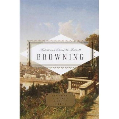 Browning: Poems - (Everyman's Library Pocket Poets) by  Robert Browning & Elizabeth Barrett Browning - image 1 of 1