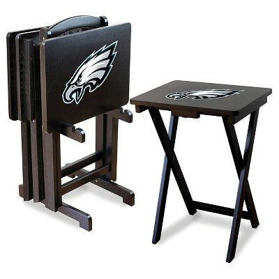 Imperial TV Trays with Stand 4 pk - Philadelphia Eagles