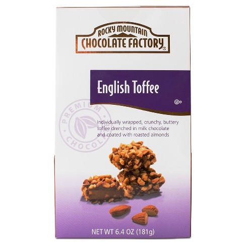 Rocky Mountain Chocolate Factory English Toffee - 6.4 oz - image 1 of 1