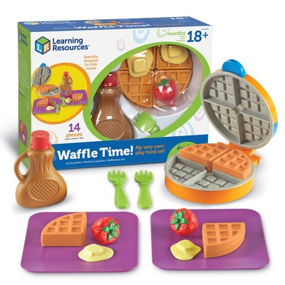 Learning Resources New Sprouts Waffle Time, 14 Piece Set, Ages 18 mos+