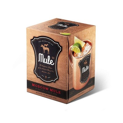Mule 2.0 Moscow Mule Mixed Cocktail - 4pk/12 fl oz Can