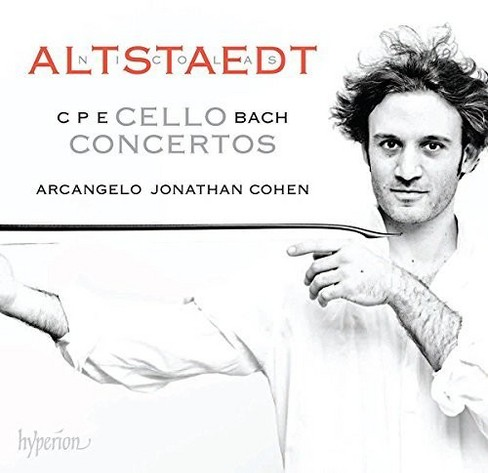 Nicolas altstaedt - Cpe bach:Cello concertos (CD) - image 1 of 1
