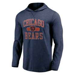 NFL Chicago Bears Men's Block Arch Lightweight Hoodie