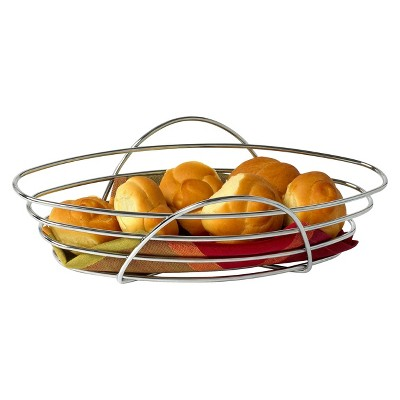 Spectrum St. Louis Bread Basket - Chrome