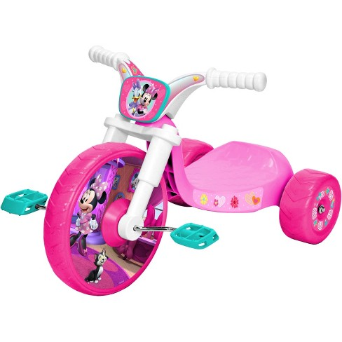 Disney Minnie Mouse Junior Fly Wheel Cruiser Tricycle - Pink - image 1 of 3