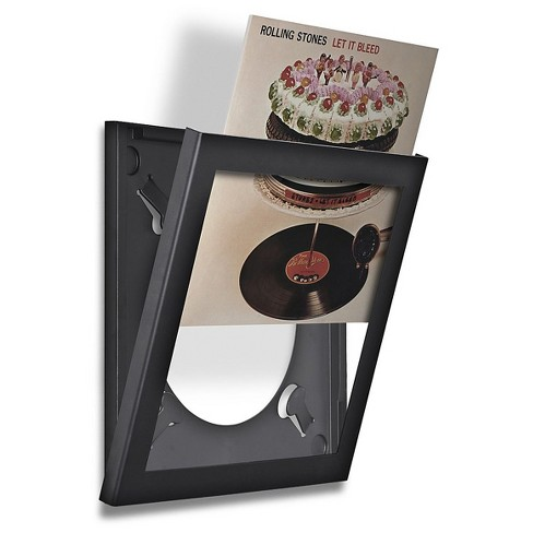 Pinnacle Vinyl Record Frame Black - image 1 of 1