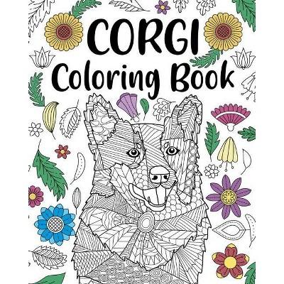 Corgi Coloring Book - by  Paperland (Paperback)